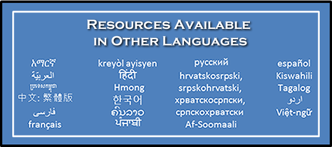 Resources Available in Other Languages