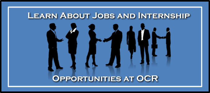 Learn About Jobs and Internship Opportunities at OCR