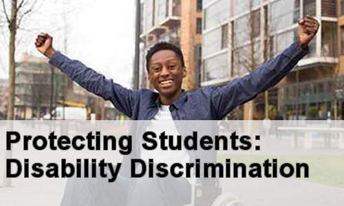 image title: Protecting Students: Disability Discrimination