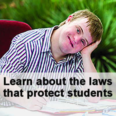 Learn about the laws that protect students