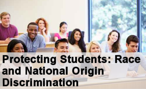 image title: Protecting Students: Race and National Origin Discrimination
