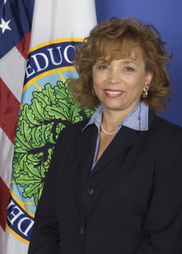 Picture of Debra Saunders-White, Deputy Assistant Secretary for Higher Education Programs, U.S. Department of Education