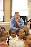 Color photo of Secretary Arne Duncan