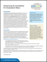 Advancing Accountability and Graduation Rates