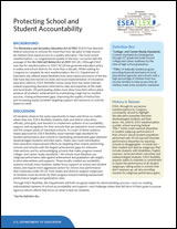 Protecting School & Student Accountability