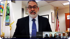 "alt=""OSERS Assistant Secretary Michael Yudin moderating the #RethinkDiscipline in Early Childhood Settings Google Hangouts discussion"""