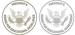 President's Education Award Program Logo